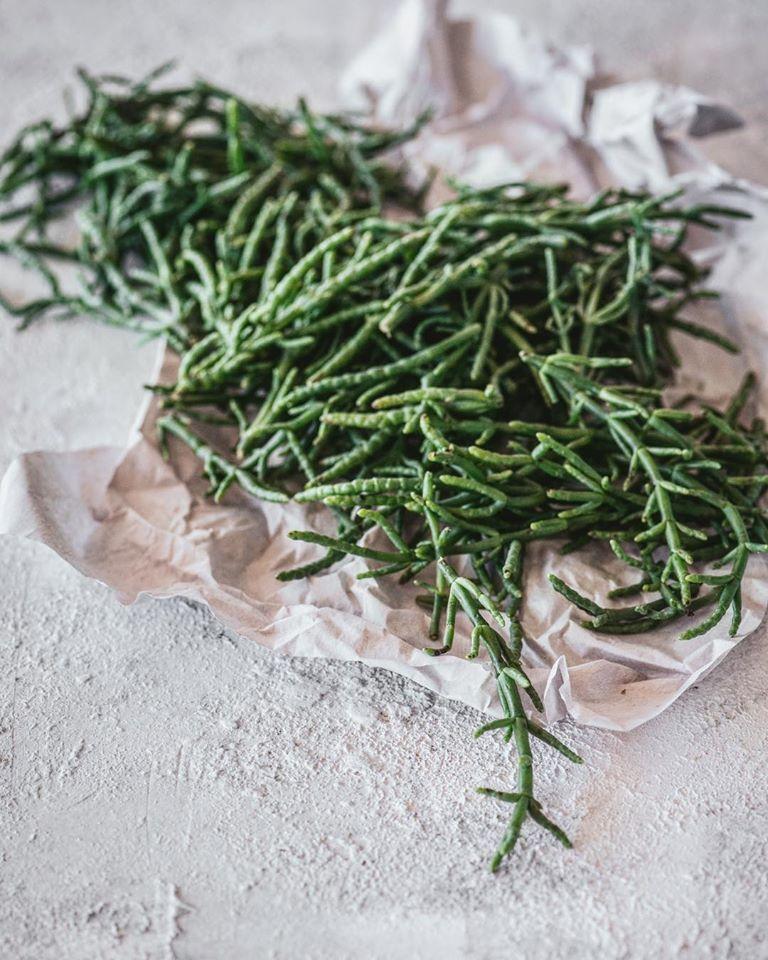 σαλικόρνια, salicornia,samphire