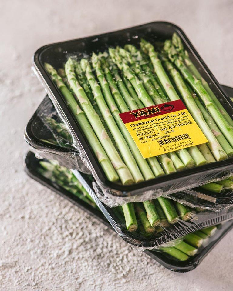 σπαράγγια μίνι,baby asparagus,χονδρική,τροφοδοσία,nature's fresh,horeca